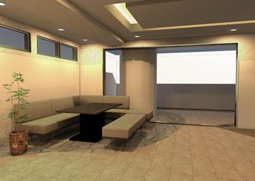 家具の3Dシミュレーション