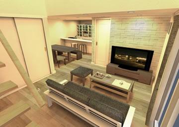 新築住宅の3Dシミュレーション