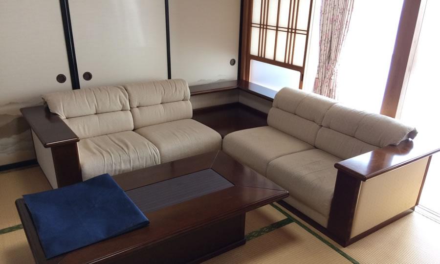 家具布地張替え前 Before