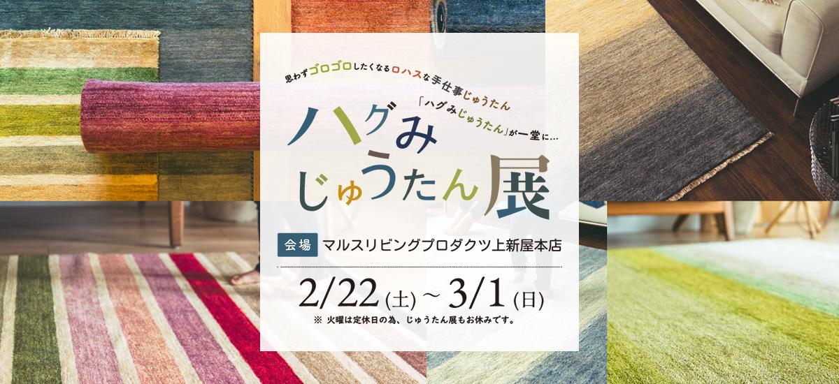 ハグみじゅうたん展2020-0130